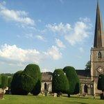 Local church garden