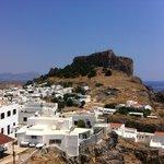 L'acropole et le village