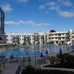 Aparthotel zona piscina