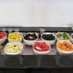 desayuno - zona de frutas