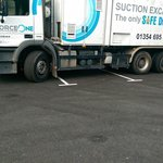 Another HGV Hogging the parking spaces