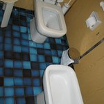 Parte de lavabo, wc y wide