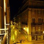 vie from the balcony