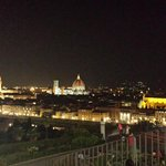 The view from Piazzale Michelangelo, right beside the camping.