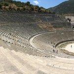 Ephesus - HUGE amphitheatre