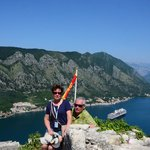 View of the Bay of Kotor.