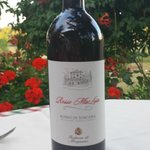 Winery red Merlot blend
