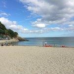 Falmouth's beautiful Swanpool Beach - 10 minute's walk away