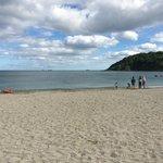 Falmouth's beautiful Swanpool beach - 10 minutes walk away