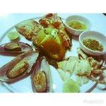 Seafood Platter @Mango Tree Restaurant & Bar Koh Samui