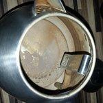 rusty kettle