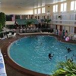 Indoor pool area