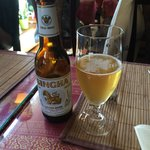 Cold Thai beer