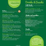Extras/Drinks/Snacks (July 2014)