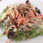 und dazu ein knackfrischer Reichenau-Salat