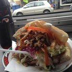 Small Doner with cheese