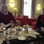 Great spread for afternoon tea