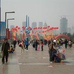 Quansheng Square in Jinan