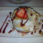 Le fraisier si délicieux.. avec une mousse au mascarpone si léger, des fraises de la région et u