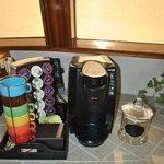Complimentary Coffee/Tea/Cookie station