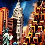 The Roller Coaster at New York New York Casino & Hotel