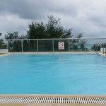 Hotel roof top pool