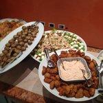 buffet del pranzo