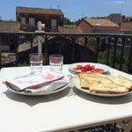 Sicilian lunch at Adriana Casa Vacanze