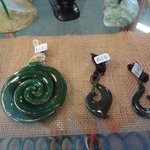 spiralling stone