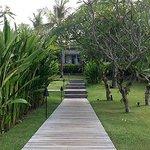 Pathway to your villas