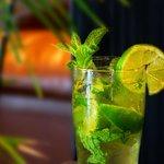 Enjoy a cocktail at CAVU