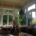 Coffee in the sun room