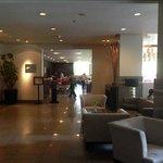 Lobby + Reception Area