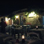 Cena en plein air...