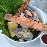 Squid & Shrimp Salad