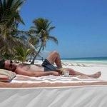 la spiaggia dello Ziggy Beach
