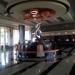 Lobby of riu hotel..