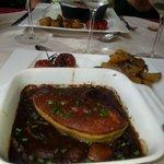 Joue de boeuf au foie gras frais