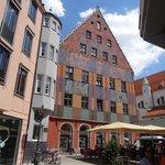 La casa Weber ad Augsburg.