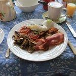 The outstanding breakfast!