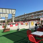 Go karting track on the roof of the Shopping Centre