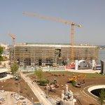 Centro Botín de Renzo Piano desde el hotel Bahía.
