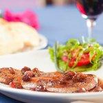 escalope de foie gras poêlé au raisin