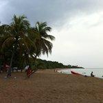 La plage de la Perle, une merveille