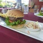 Best Beef Burger at Jeena's