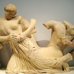 Lapiths and Centaurs from Temple of Zeus