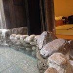 hot spring in room