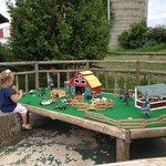 Farm toys at Poco Loco