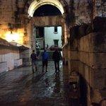 Enter off the street thru the Silver Gate