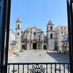 Vista da Catedral a partir do Museu Del Conde de La Bayona